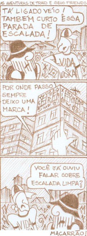 Desenho por Márcio A. F.Grochocki